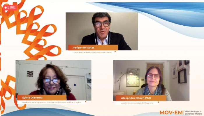 Los desafíos abiertos de la esclerosis múltiple en Chile