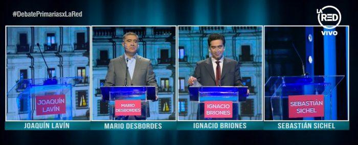Desbordes y Briones critican ausencia de Lavín y Sichel de debate presidencial: aseguran que no se rompió