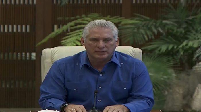Protestas en Cuba: presidente Díaz-Canel asegura que las movilizaciones buscan