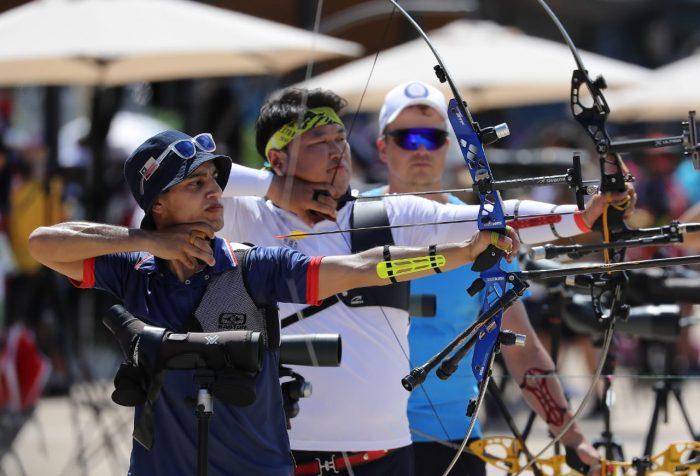 Andrés Aguilar debutó en los Juegos Olímpicos con su mejor marca a nivel internacional en Tiro con Arco