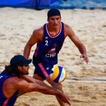 Los primos Grimalt cayeron con Polonia pero siguen con opciones de avanzar en el Vóleibol Playa mientras que Bárbara Riveros terminó en el puesto 25 en Triatlón
