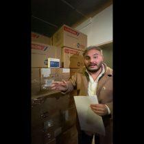 Concejal de Maipú encuentra 20 mil test rápidos vencidos en bodegas del municipio