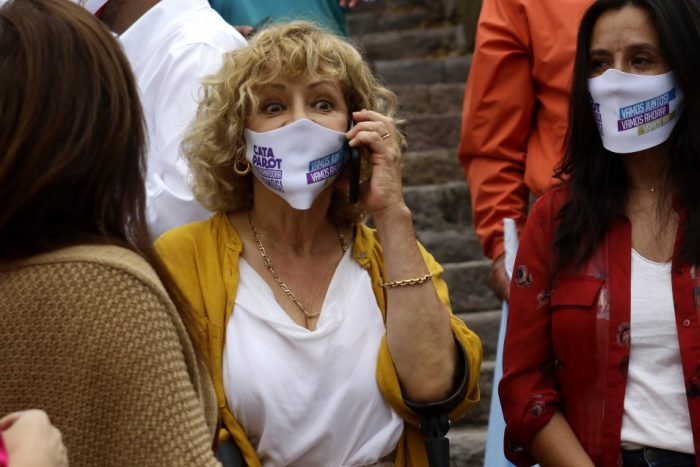 """Hasta en Chile Vamos encontraron que el nombramiento de Catalina Parot es la """"sillita musical"""""""