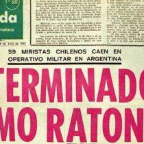 """""""Exterminados como ratones"""": a 46 años del infame titular, familiares de víctimas de la Operación Colombo recurren a Comisión Interamericana de DD.HH."""
