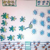 Concurso de dibujo científico para niños y niñas