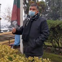 Municipio de Padre las Casas iza bandera mapuche en homenaje a presidenta de la Convención Constitucional, Elisa Loncon