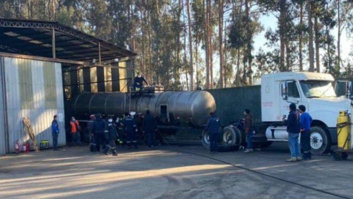 Al menos tres personas mueren tras inhalar sulfhidrato de sodio en Barrio Industrial de Concón