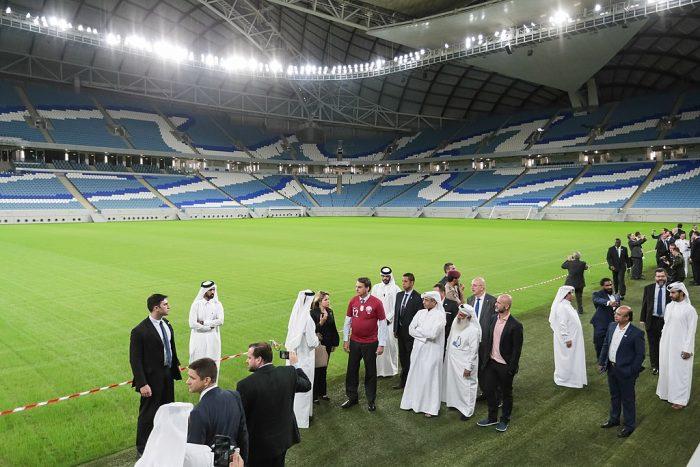 Los pasajes a Qatar
