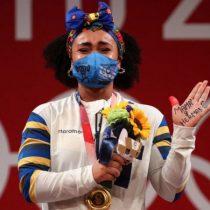 Tokio: Neisi Dajomes gana oro en halterofilia y se convierte en la primera mujer medallista olímpica de Ecuador
