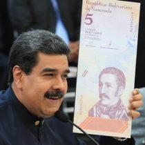 """Venezuela elimina seis ceros a sus billetes y anuncia """"bolívar digital"""" desde octubre"""