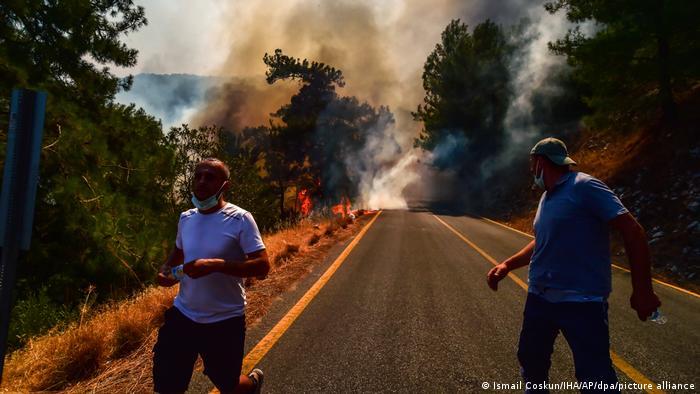 Turquía intensifica lucha contra incendios con ayuda europea