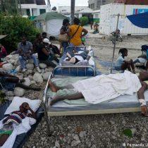 Haití sufre intensas lluvias bajo secuelas del terremoto