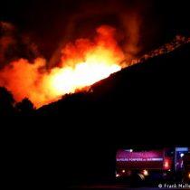Miles de evacuados en la Costa Azul francesa por incendio forestal