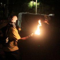 Estallido social: tribunal condena a tres personas por arrojar bombas molotov