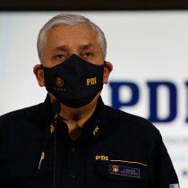Tribunal rechaza adelantar formalización de exdirector de la PDI Héctor Espinosa