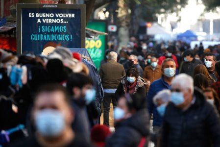 Chile reporta una positividad de 1,78 %, la más baja de toda la pandemia