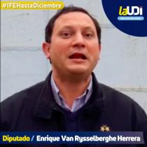 Diputados UDI lanzan video presionando por IFE hasta diciembre: