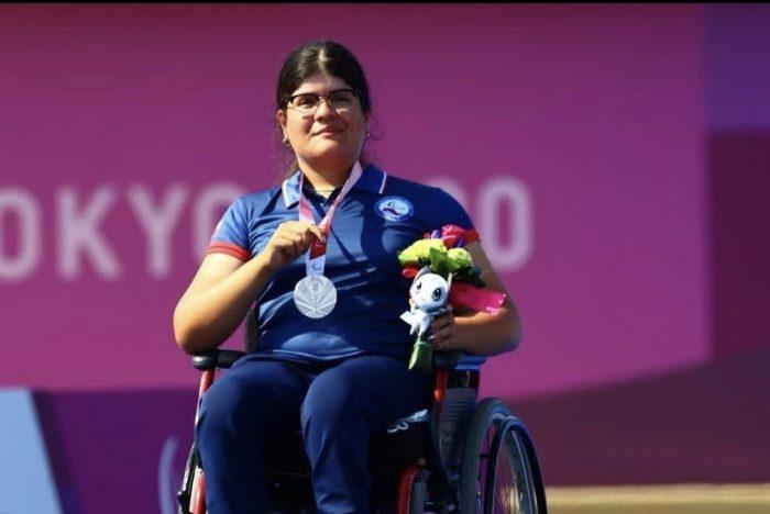 Cuarta presea para Chile: Mariana Zúñiga consiguió medalla de plata en los Juegos Paralímpicos de Tokio en tiro con arco