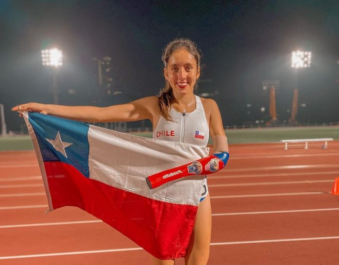 Amanda Cerna, la atleta paralímpica que sueña con una medalla para Chile