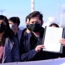 Gabriel Boric se compromete al cierre de las termoeléctricas y emplaza al Presidente Piñera por reapertura de Ventanas 1: