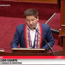 El discurso en quechua y aymara del primer ministro Bellido que desató las quejas de la oposición en el Congreso peruano