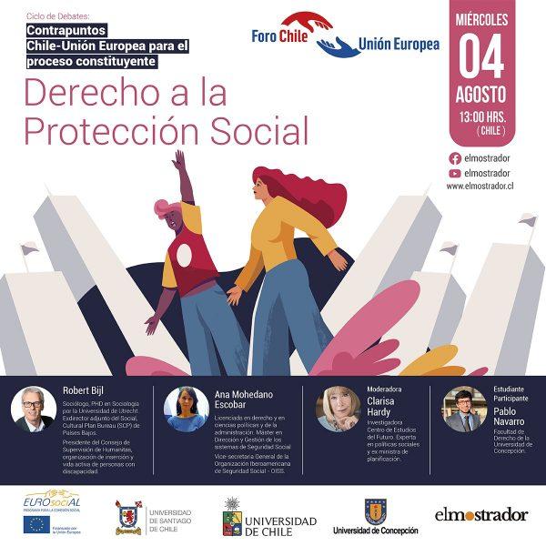 El derecho a la protección social será el tema del próximo
