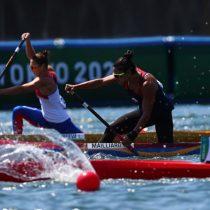 María José Mailliard cumplió con las expectativas y se inscribió en las semifinales de canotaje de los Juegos Olímpicos de Tokio 2020