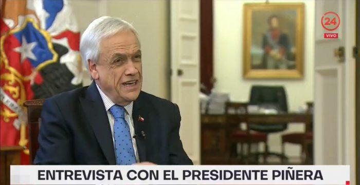Presidente Piñera dice que tiene dos candidatos técnicos para reemplazar a Parot y defiende que Arancibia siga en la comisión de DD.HH