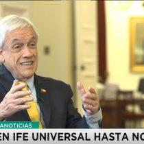"""Presidente Piñera le pone todas las fichas a Sichel: """"Pasará a segunda vuelta probablemente con Boric y va a ser un gran Presidente"""""""