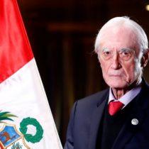 Gobierno peruano acepta renuncia de canciller Héctor Béjar tras polémicos dichos sobre terrorismo y la Marina