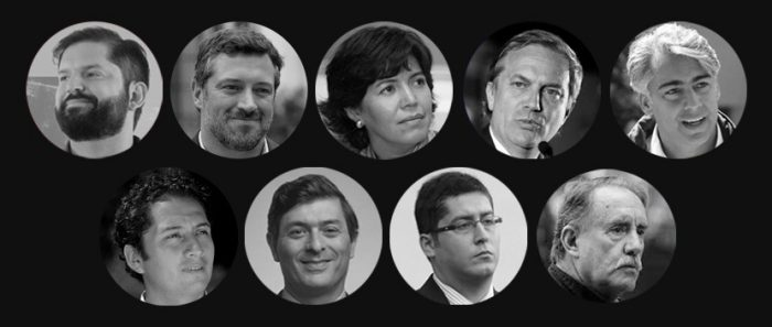 Más de uno para cada día de la semana: papeleta de noviembre tendrá a nueve candidatos presidenciales