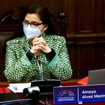 """Amaya Álvez, coordinadora de la comisión de Reglamento de la Convención: """"He recibido muchas felicitaciones por cómo logramos hacer tanto en tan poco tiempo"""""""