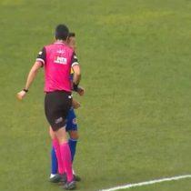 Árbitro que agredió a jugador en la Primera B pasó a sumario por parte de la ANFP