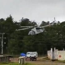 Secretario de Gobierno de Veracruz junto a pasajeros resultaron ilesos tras caída de helicóptero