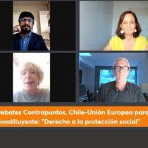Expertos europeos abordan el derecho a la protección social en el proceso constituyente y las ideas de Renta Básica Universal y reforma previsional
