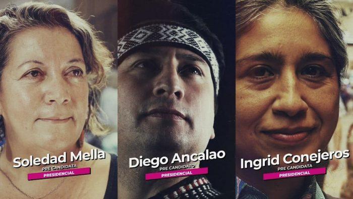 No está Cristián Cuevas: Lista del Pueblo oficializa a sus tres precandidatos presidenciales
