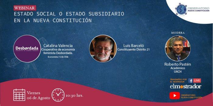 Sigue en vivo conversatorio Observatorio Nueva Constitución: