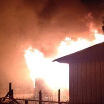Un adulto y una menor de edad fallecieron en ataque incendiario en Tirúa