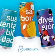 """Movimiento """"quierolata"""" busca potenciar el uso de lata y generar conciencia ambiental"""