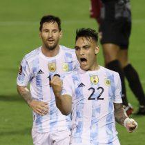 Argentina vence 3-1 a Venezuela en eliminatoria sudamericana al Mundial 2022 y ahora va por Brasil
