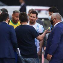 Covid-19 en la cancha: Partido entre Brasil y Argentina, suspendido tras interrupción de autoridades sanitarias