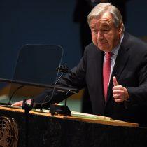 António Guterres da la alarma en la Asamblea General de la ONU: