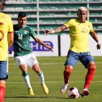 Eliminatorias rumbo a Catar 2022: Bolivia empata a Colombia con gol de Saucedo
