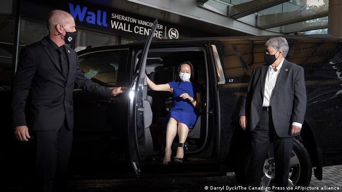 Caso Huawei: Meng Wanzhou agradece el