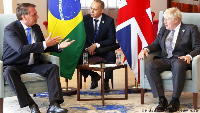 Jair Bolsonaro: Boris Johnson busca acuerdo