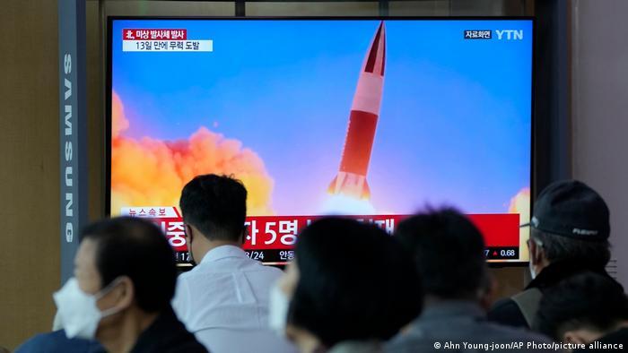 Japón vigila a Corea del Norte tras nuevo lanzamiento de misil