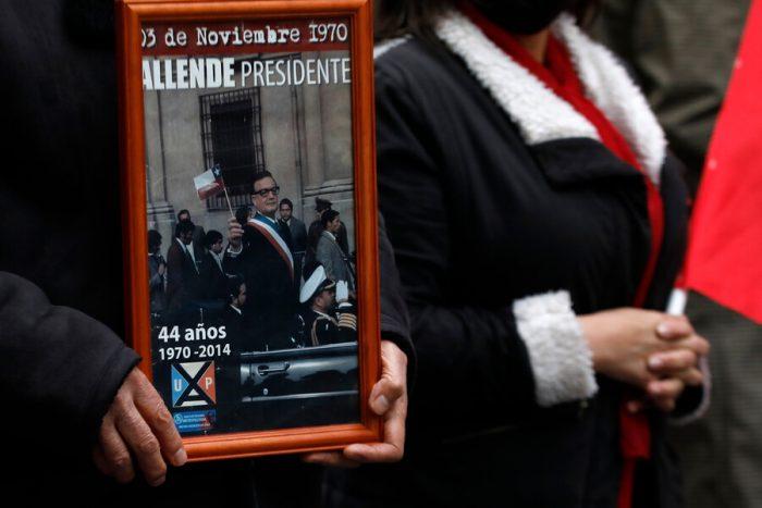 11 de septiembre: agrupaciones de DD.HH. marcharon en tradicional romería al Cementerio General