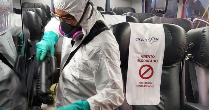 La seguridad en el transporte depende de la sanitización