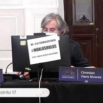 """Constituyente Christian Viera aterriza el debate en la discusión por el quórum: """"Hoy los 2/3 no son un obstáculo para un proyecto transformador"""""""
