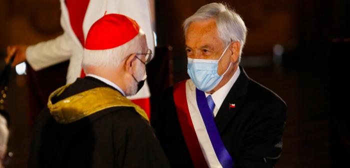 Critica de Aós al matrimonio igualitario marcó el Te Deum: Presidente Piñera replica que